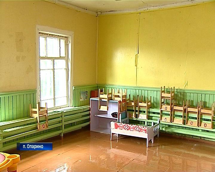 В Опарино построят новый детский сад
