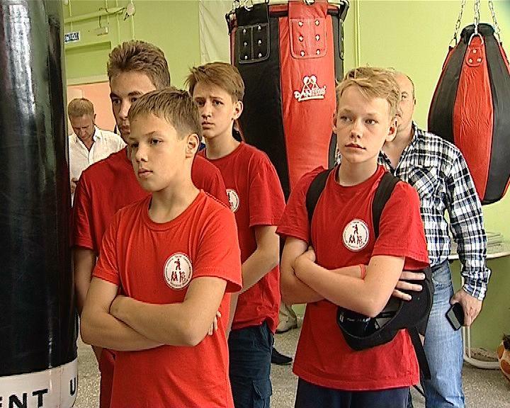 В Радужном появился новый тренировочный зал