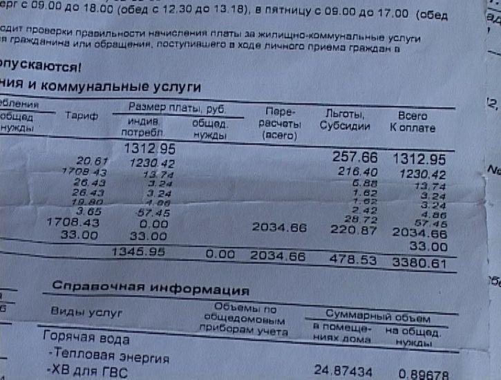 УК Ленинского района ошибочно начислила квитанции дому на Московской
