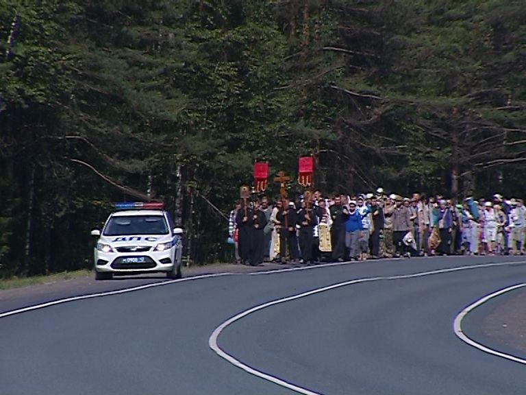 Старообрядческий крестный ход вернулся в Киров