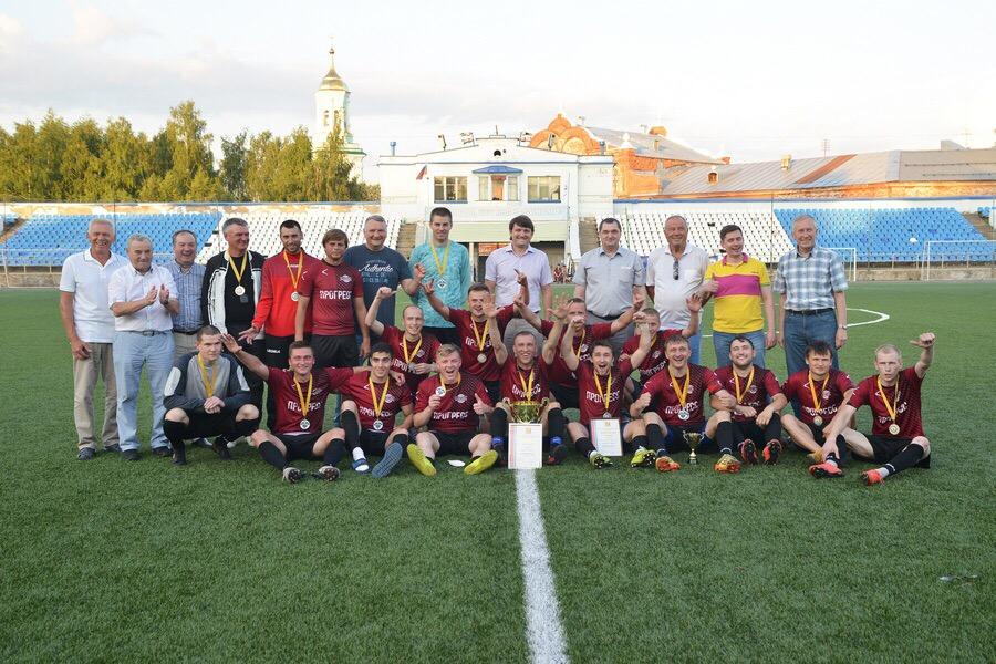 В Кирове прошел финал Кубка области по футболу.