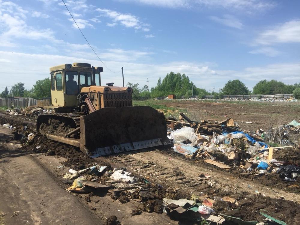 На полигоне ТБО в Перекопе запретили размещать мусор.