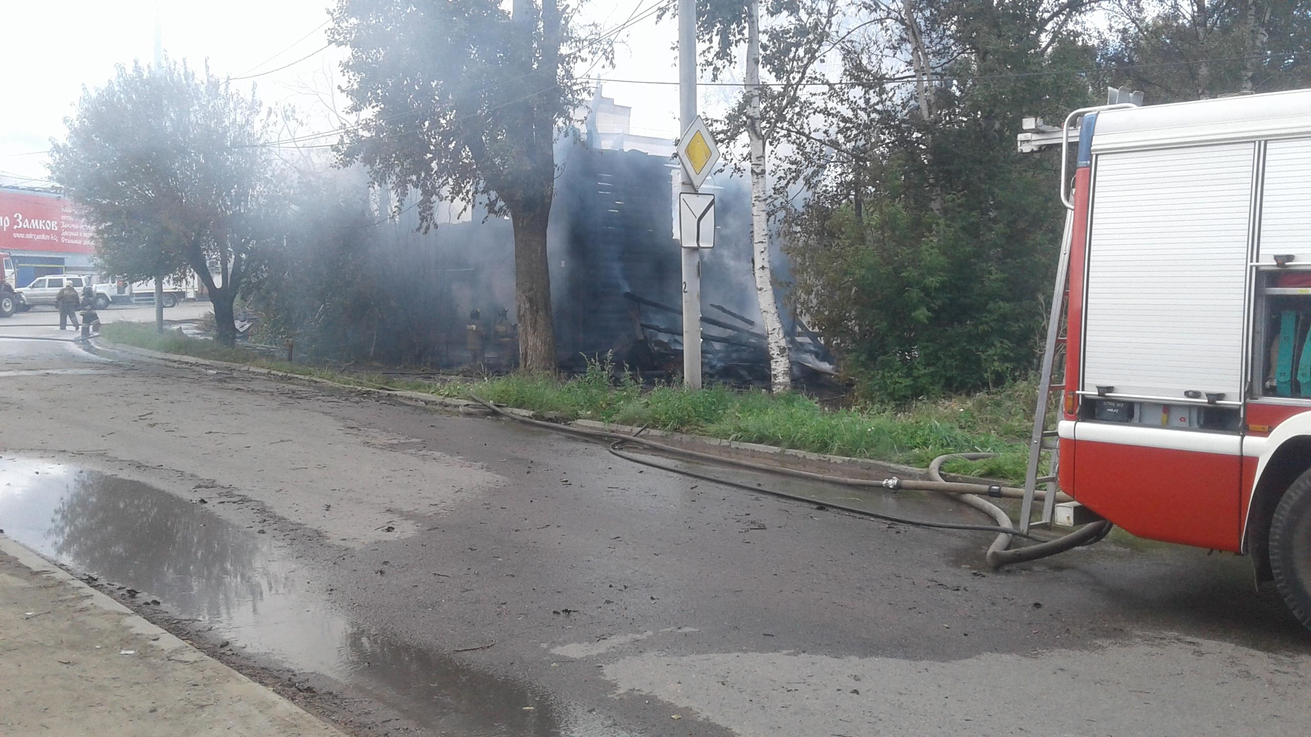 В Кирове объявили сбор средств пострадавшим от пожара на улице Блюхера.