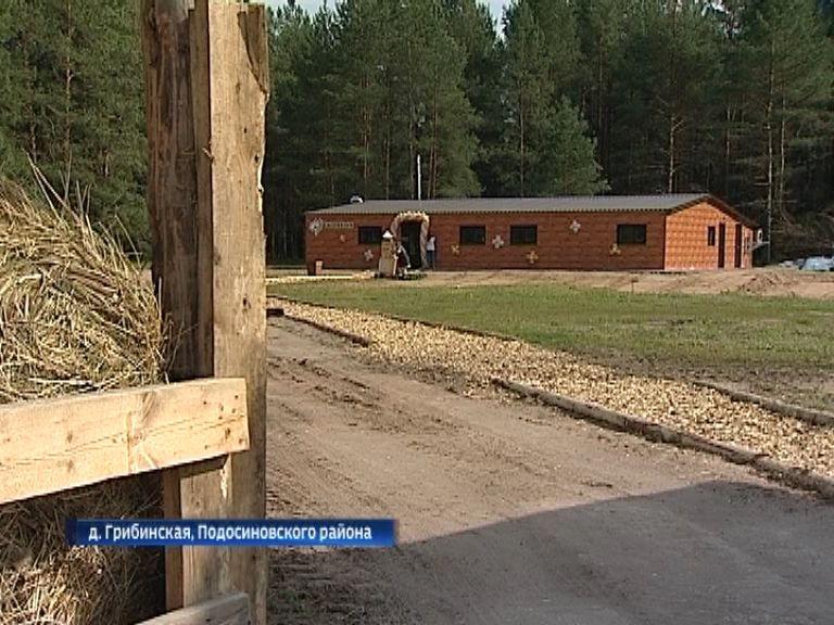 В Подосиновском районе на месте советского колхоза построили эко-ферму