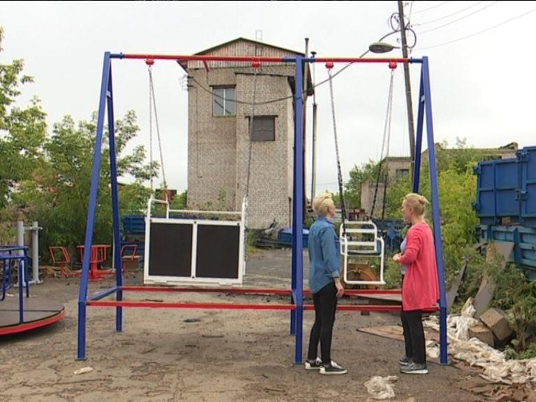 В Кирове спроектировали качели для детей-инвалидов