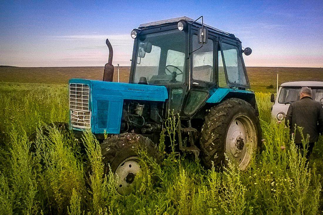 В Малмыжском районе задержали угонщиков грузовика и трактора.