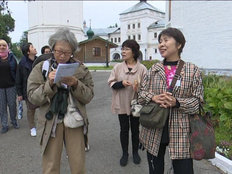 Японцы знакомились в Кирове с русской культурой