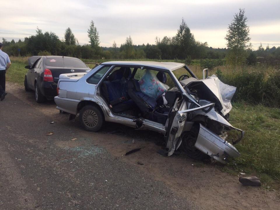 В Кирово-Чепецком районе в ДТП погибли 2 человека, 2 травмированы.