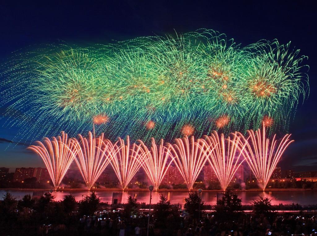 В Кировской области пройдет фестиваль фейерверков.