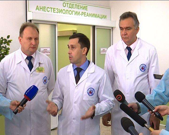 Закончен ремонт кардиохирургического отделения областной клинической больницы