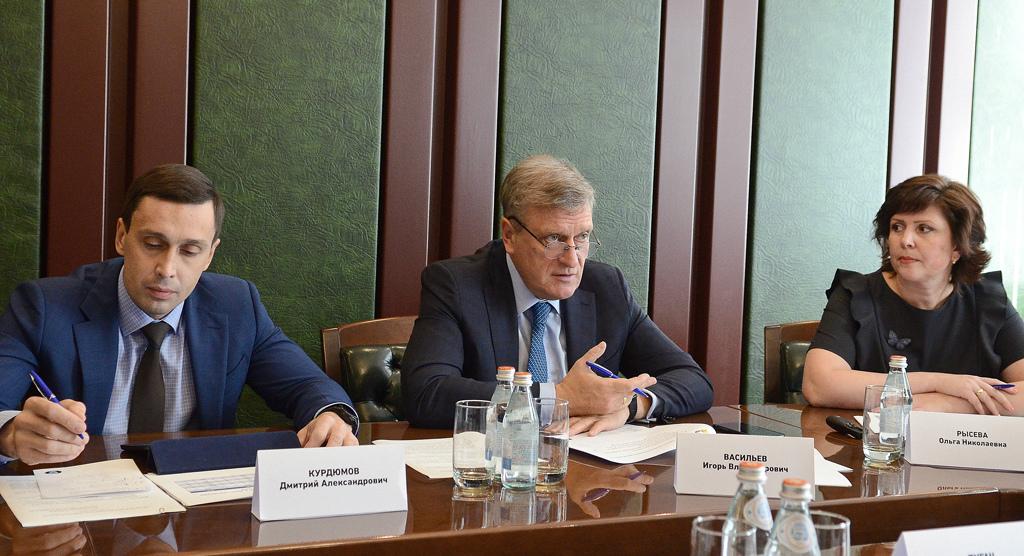 Игорь Васильев предложил создать в Кирове кампус для студентов разных вузов.