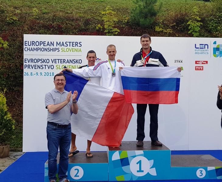 Кировский полицейский стал чемпионом Европы по плаванию.
