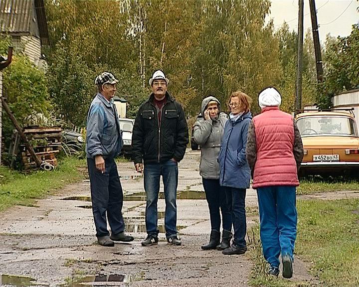 Ситуация по газу в деревне Югрино