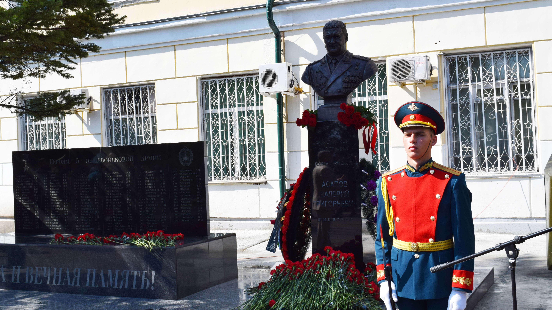 В Приморье открыли памятник уроженцу Кировской области, генералу Асапову.