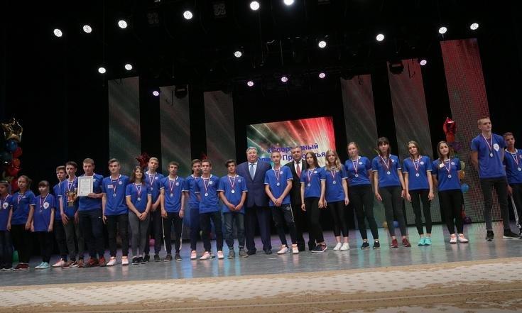 Сборная Кировской области вошла в число призеров окружного фестиваля