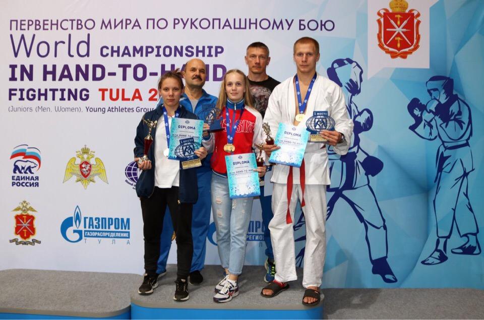 Кировчане стали победителями первенства мира по рукопашному бою.