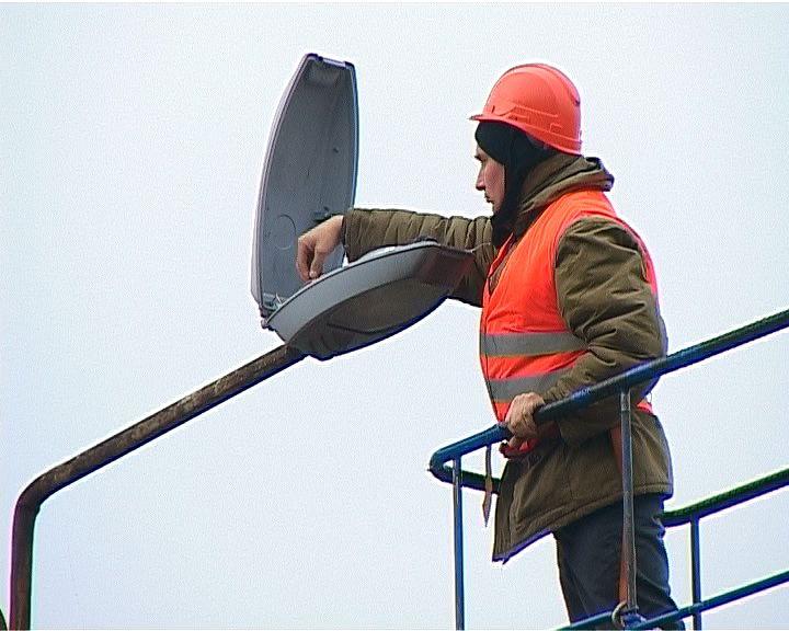 На улицах города проводится масштабная инспекция фонарей