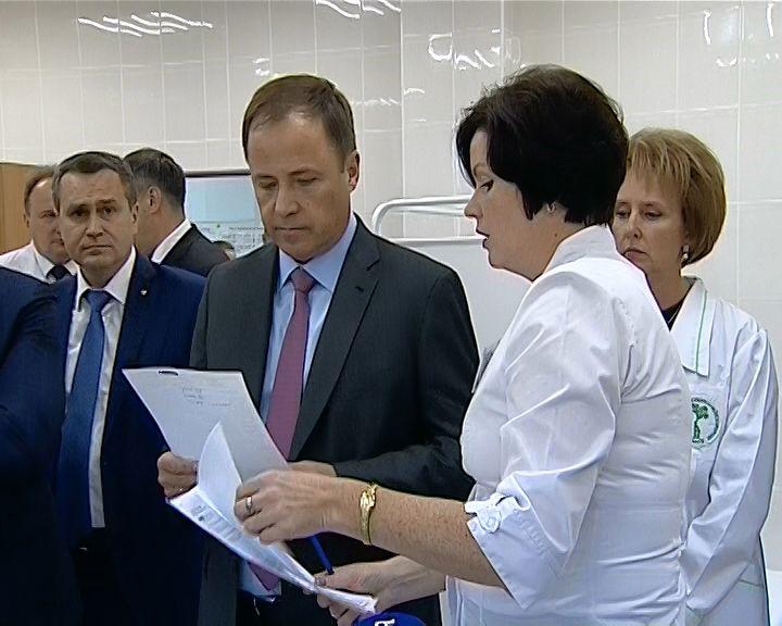 Игорь Комаров высоко оценил уровень кировской медицины