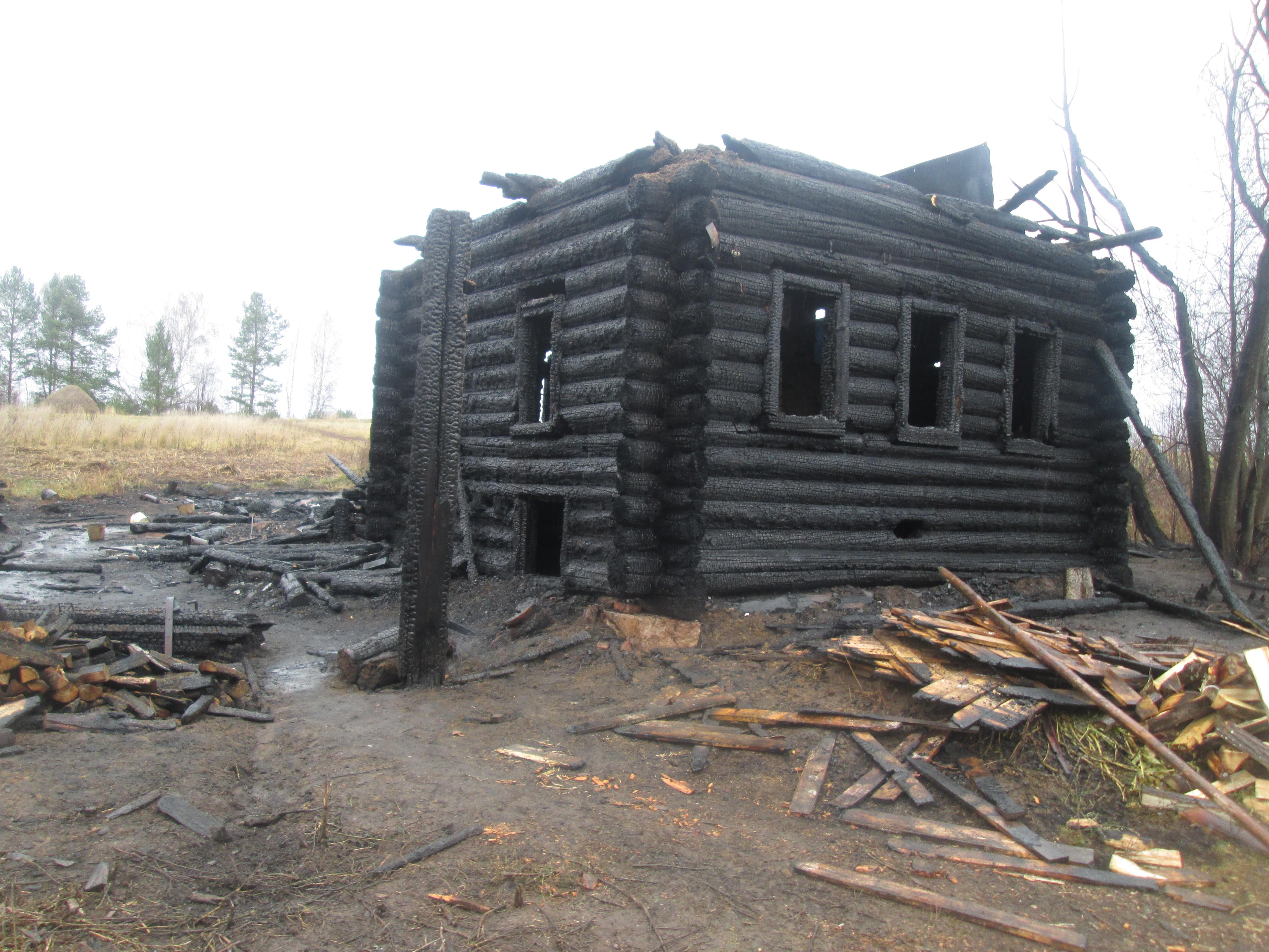 В Уржумском районе на месте пожара нашли тело второго погибшего.