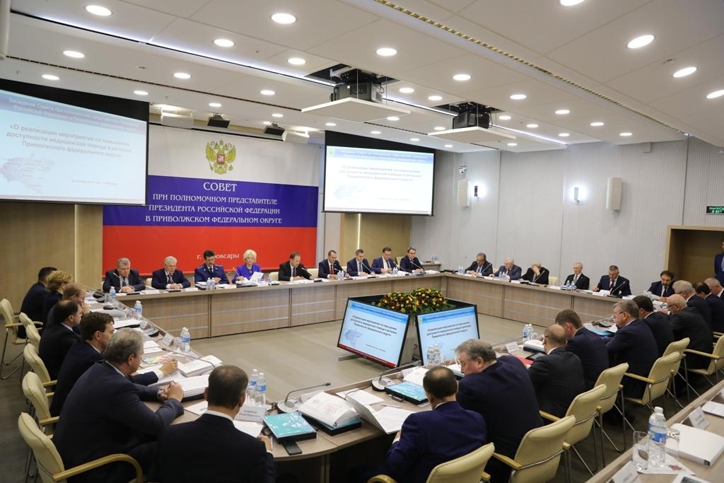 Игорь Васильев принял участие в заседании Совета регионов ПФО.