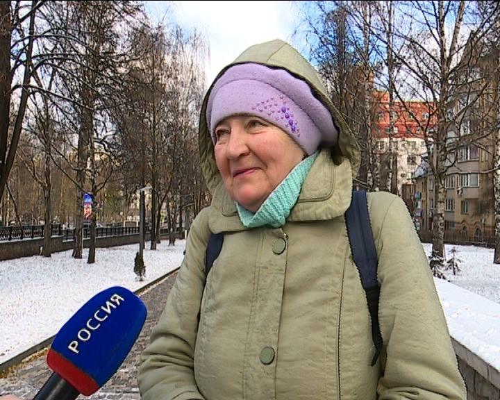 В Кирове установился снежный покров