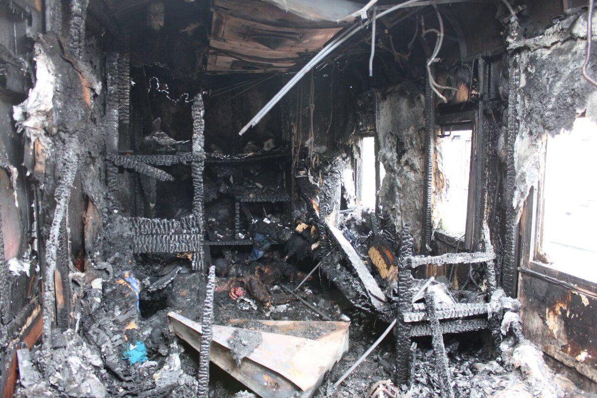В Арбажском районе сгорели два рыбака.