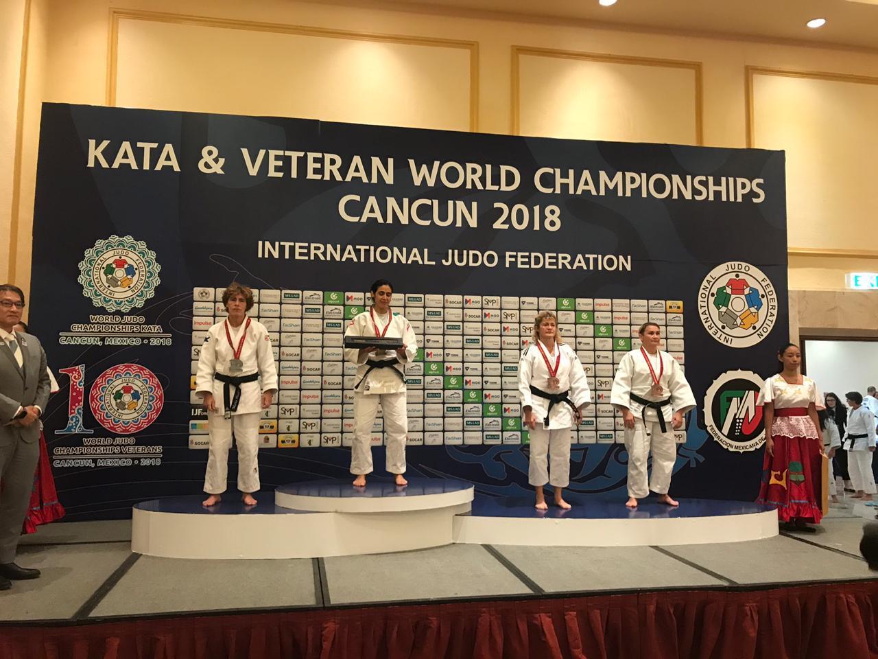 Сотрудница УФСИН по Кировской области стала бронзовым призером Чемпионата мира по дзюдо.