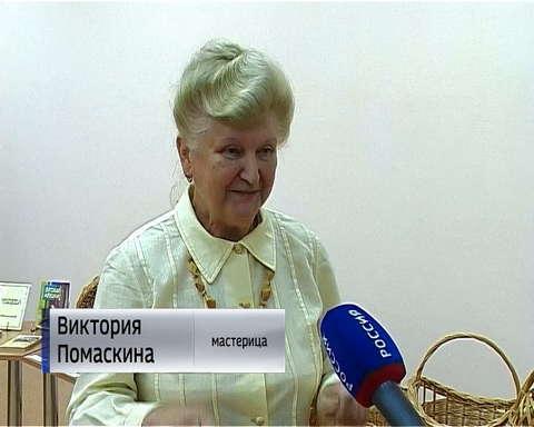 """Выставка """"Плетёные чудеса"""" в библиотеке № 14 в Нововятске"""
