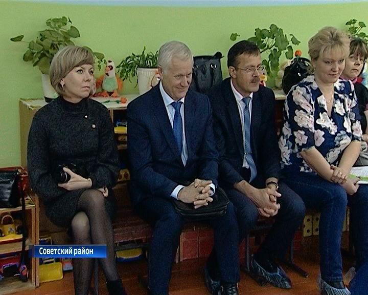 Алексей Котлячков посетил с рабочим визитом Советский район
