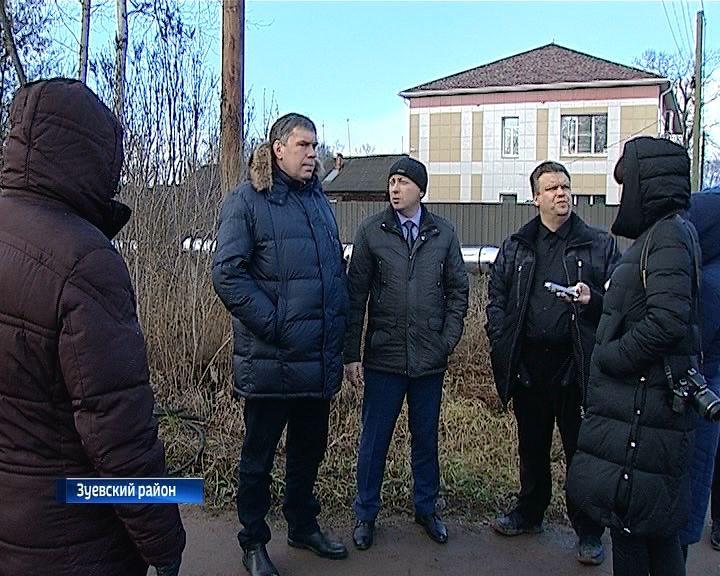 Главный федеральный инспектор по Кировской области посетил Зуевский район