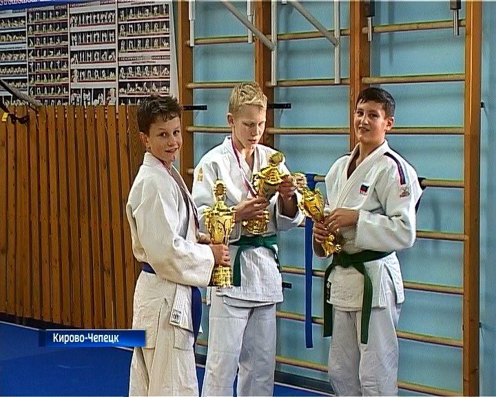 Чепецкие дзюдоисты завоевали золото и серебро на соревнованиях в Марий Эл