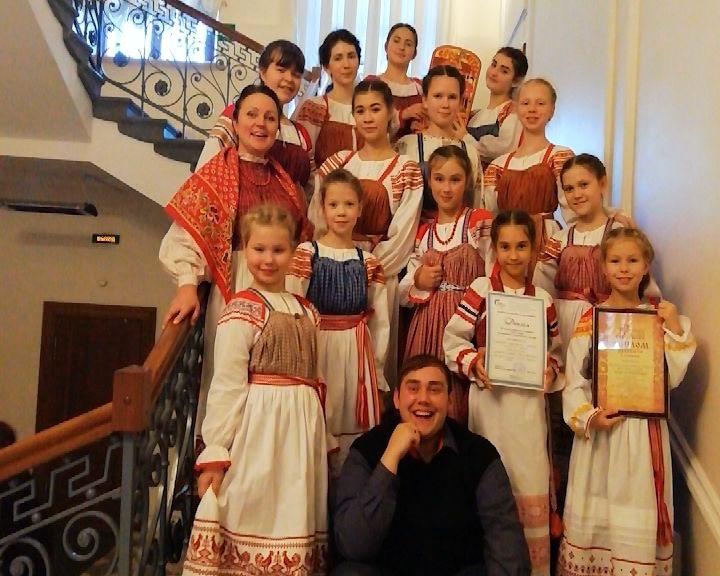 Юные кировчане стали лауреатами на Всероссийской детской фольклорной Ассамблее в Великом Новгороде