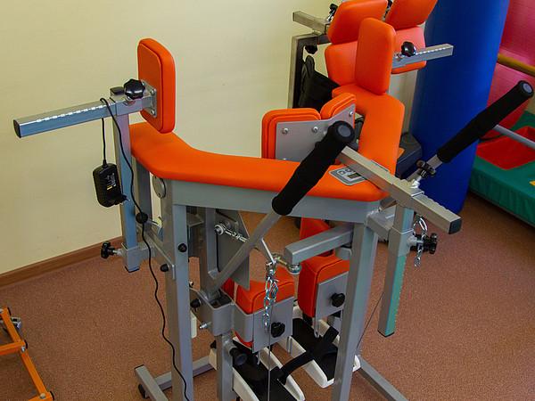 В кировском центре медреабилитации для детей появилось новое оборудование.