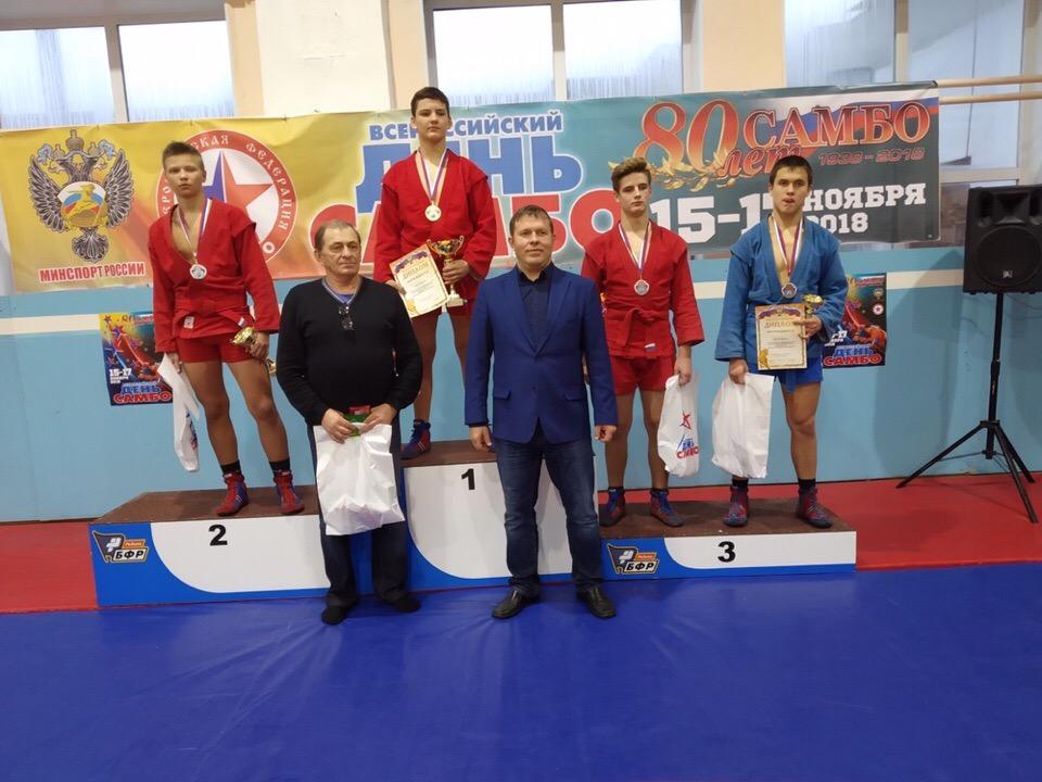 Кировский самбист завоевал золотую медаль в Екатеринбурге.