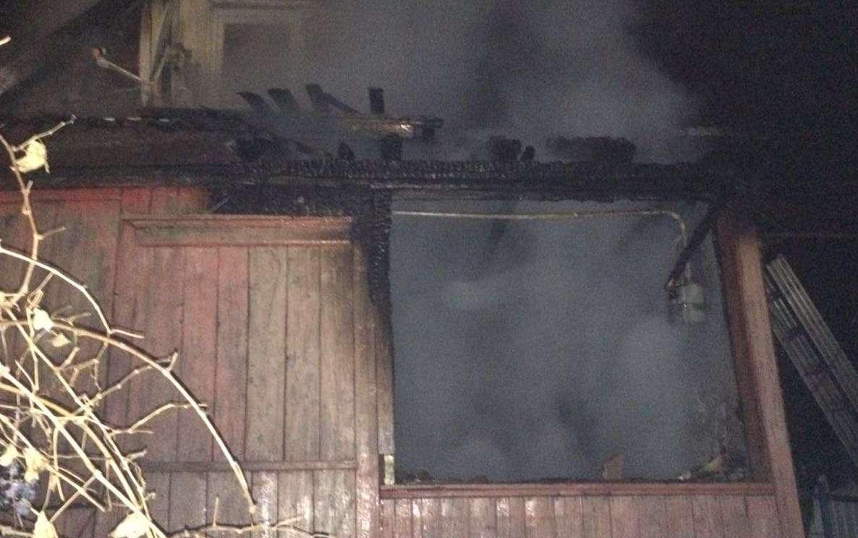 В Немском районе на пожаре погиб мужчина.