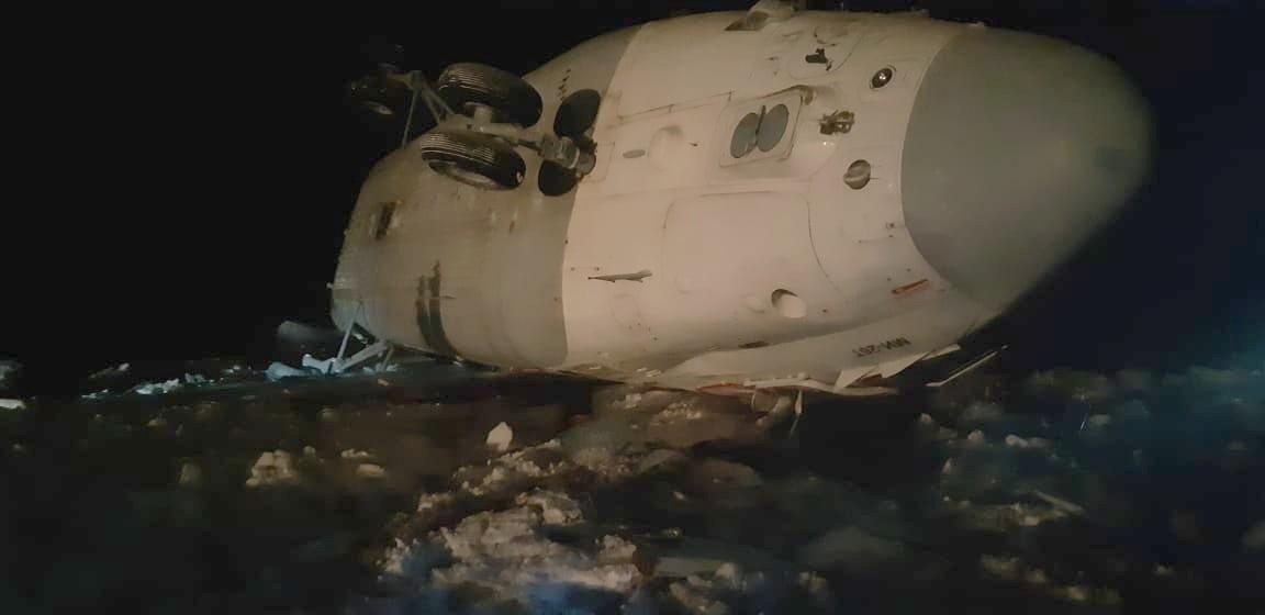 В Ненецком автономном округе во время жесткой посадки Ми-26 пострадал житель г. Кирова.