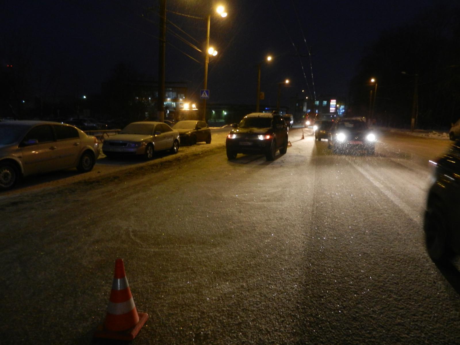 В Кирове водитель «Мицубиси Паджеро Спорт» сбил пенсионерку.