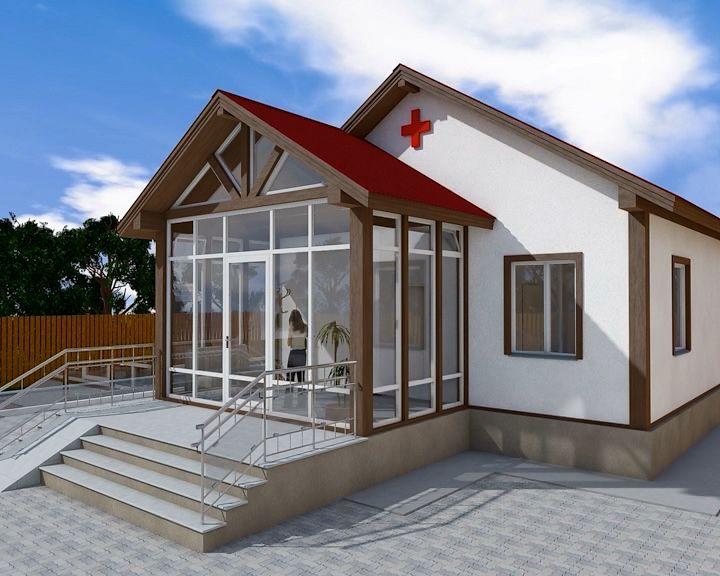 В Кирове построят необычный ФАП в форме креста