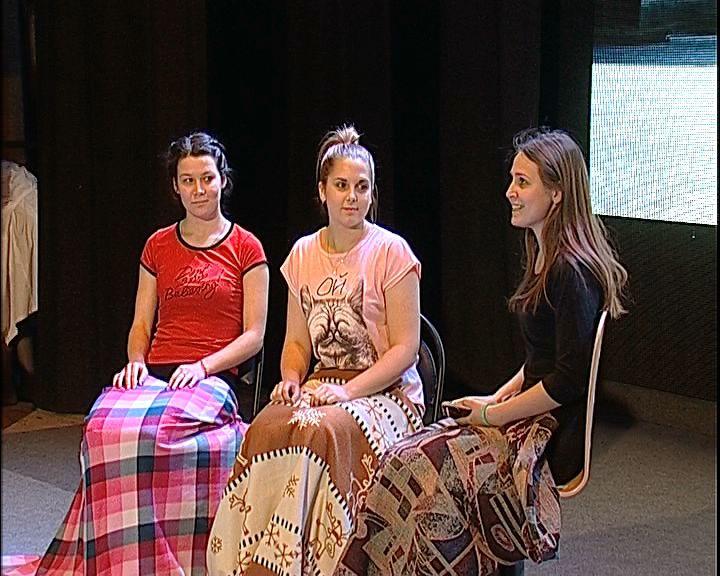 В областном дворце молодёжи проходит фестиваль социальных спектаклей