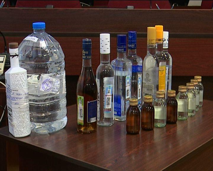 Полиция продолжает выявлять преступления в сфере оборота алкогольной продукции