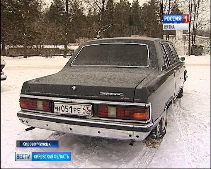 Житель Кирово-Чепецка коллекционирует раритетные советские автомобили