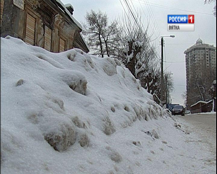 Рейд ОНФ по уборке городских улиц от снега