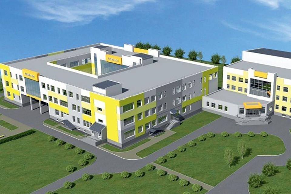 Новую школу в Чистых Прудах сдадут в декабре 2019 года.