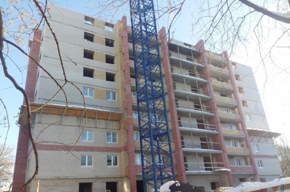 В Кирове застройщик-банкрот завершит строительство многоквартирного дома на улице Маклина, 60а.