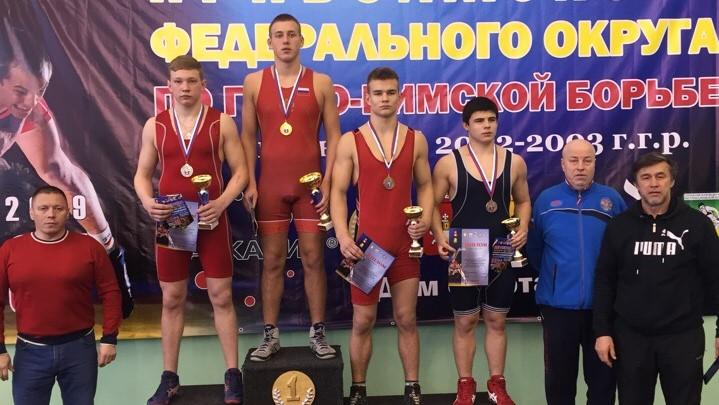 Кировчанин стал серебряным призером первенства ПФО по греко-римской борьбе.