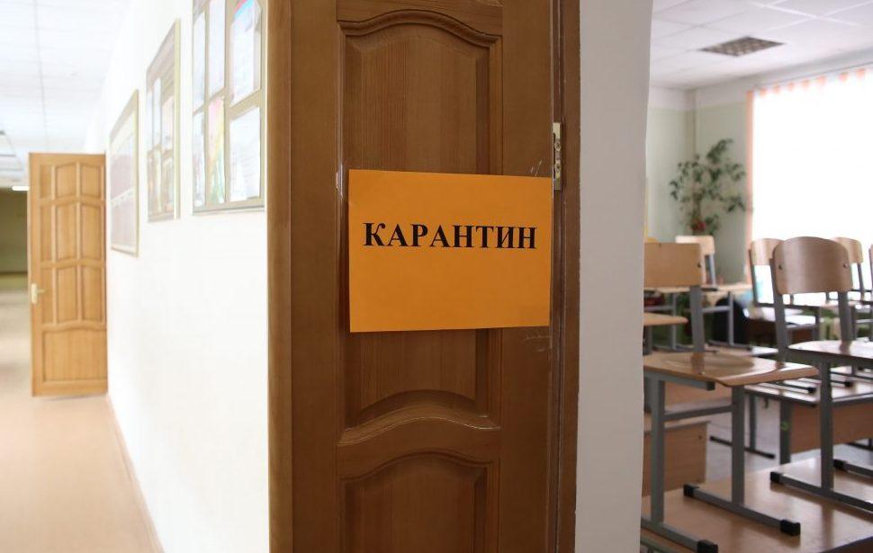 В Кирове в 20 школах и 4 детских садах ввели частичный карантин.