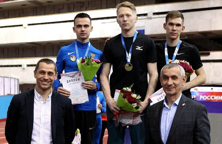Воспитанник кирово-чепецкой лёгкой атлетики выиграл зимний чемпионат России.