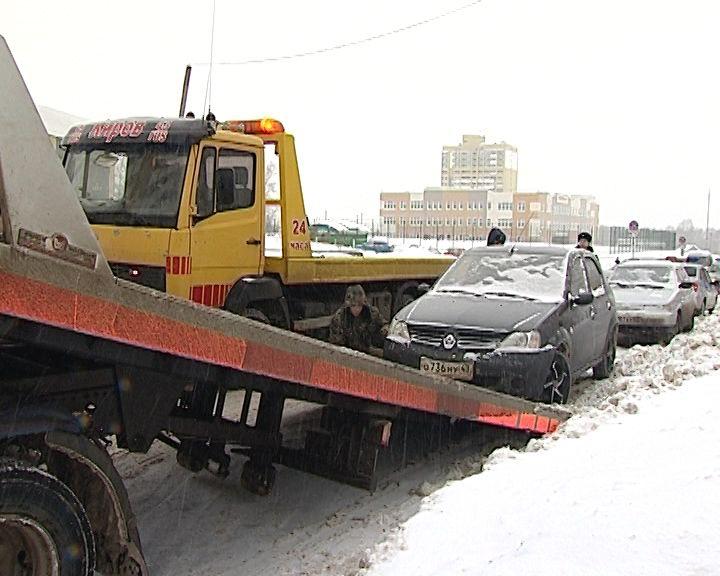 Рейды ГИБДД по транспортным средствам, оставленным под запрещающими знаками