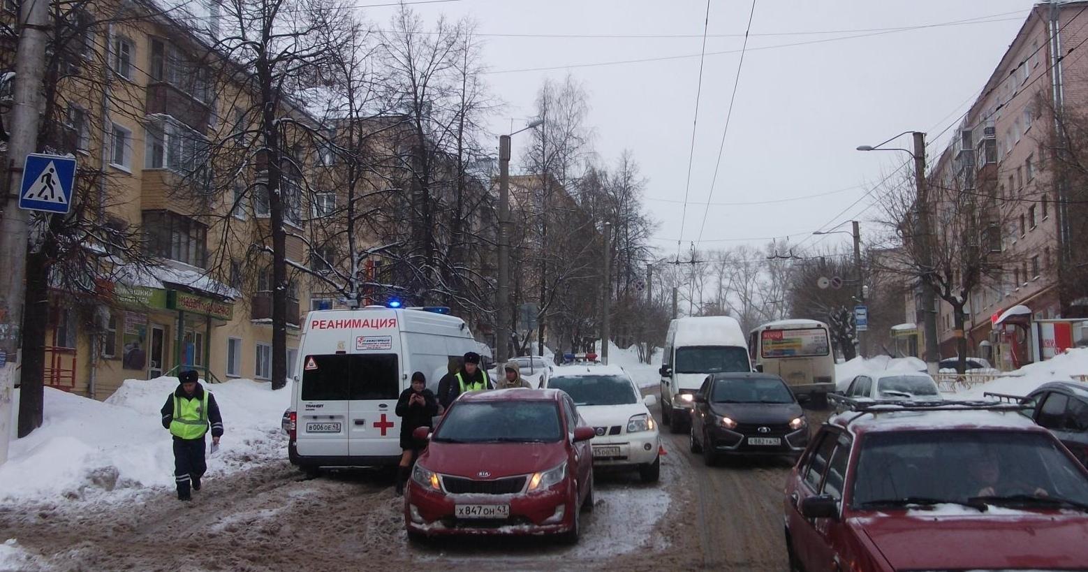 На улице Чапаева иномарка сбила 18-летнюю девушку.