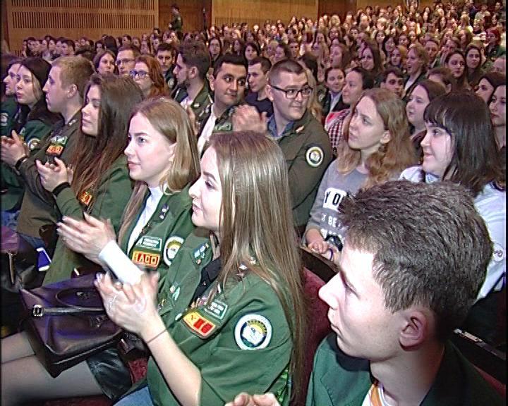 Российские студотряды отметили профессиональный праздник